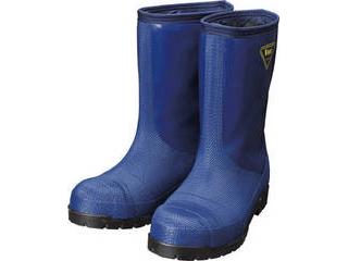 SHIBATA/シバタ工業 冷蔵庫用長靴-40℃ NR021 24.0cm ネイビー