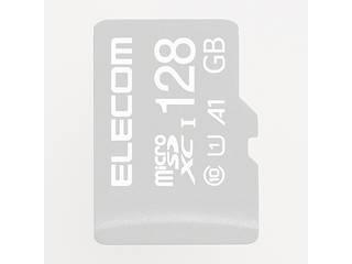ELECOM/エレコム MicroSDXCカード/IKARUS付/UHS-I U1 128GB