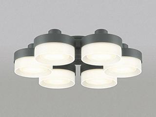 ODELIC/オーデリック WF269PC LEDシーリングファン 灯具 [薄型ガラスタイプ・6灯]【~10畳】