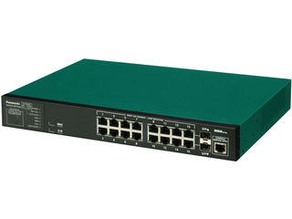パナソニックESネットワークス 【キャンセル不可】16ポート L2スイッチングハブ 3年先出しセンドバック保守バンドル PN28160KB3