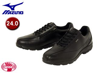 mizuno/ミズノ B1GC1716-09 LD40 α SW ウォーキングシューズ 【24.0】 (ブラック)