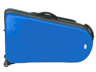 【納期にお時間がかかる場合があります】 KIKUTANI/キクタニ EFBE BLU(ブルー) bags ユーフォニアム用ファイバーケース 【沖縄・九州地方・北海道・その他の離島は配送できません】 【配送時間指定不可】