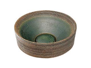 KAKUDAI/カクダイ 493-024-FG 丸型手洗器 (織部)