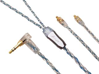 Luminox Audio/ルミノクスオーディオ LNA-BOB-MMCX-35L イヤホン リケーブル ブースターブルー MMCX 3.5mm(L字) Luminox Audio Booster Blue LNA Booster Blue MMCX-3.5mmL