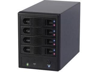 新会社名のFFF SMART LIFE CONNECTED製品が混在しますが、仕様は同等ですのでご安心ください。 MARSHAL/マーシャル SATA3.5/2.5インチHDD4台外付けケース HDD TOWER 4 MAL-3035SBKU3