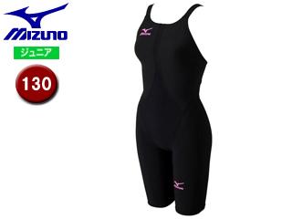 mizuno/ミズノ N2MG6411-97 MX-SONIC02 ハーフスーツ ジュニア 【130】 (ブラック×ローズ)