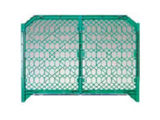 DICプラスチック 【代引不可】ディックSPフェンス 1500×1200 緑 DSPF1500GN