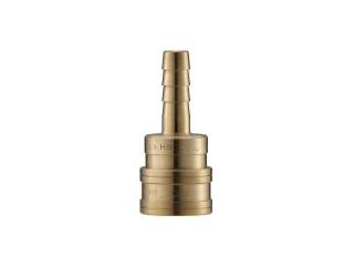 NAGAHORI/長堀工業 NAC/ナック クイックカップリング TL型 真鍮製 ホース取付用 CTL12SH2