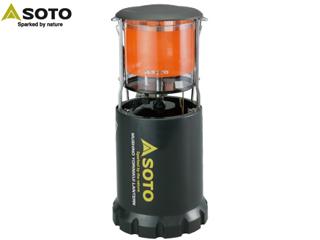 【PSLPGマーク取得商品】 SOTO/ソト ST-233 虫の寄りにくいランタン 【CB缶(カセットボンベ)使用】 PKSS06