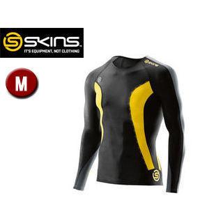 SKINS/スキンズ DK9905005-BKCR DNAMIC メンズ ロングスリーブトップ 【M】 (ブラック×シトロン)