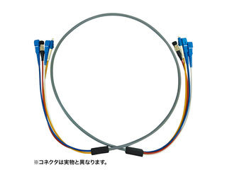 サンワサプライ 防水ロバスト光ファイバケーブル(30m・グレー) HKB-SCSCWPRB5-30