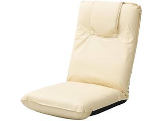 低反発座椅子(ヘッドレスト付)2個組 ベージュ TT-13BE-2