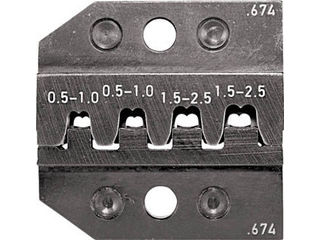 RENNSTEIG/レンシュタイクヴェルクツォイゲ 圧着ダイス 624-674 ソケットコンタクト 0.5-2. 624-674-3-0
