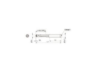 KYOCERA/京セラ ドリル用ホルダ SS16-DRC145M-3
