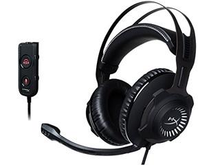 【nightsale】 キングストンテクノロジー ゲーミングヘッドセット HyperX Cloud Revolver S HX-HSCRS-GM/AS ガンメタル