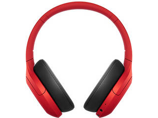 SONY/ソニー ワイヤレスノイズキャンセリングステレオヘッドセット レッド WH-H910NR