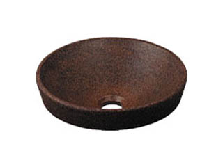 KAKUDAI/カクダイ 493-012-M 丸型手洗器 窯肌