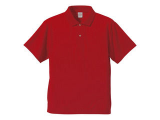 United Athle 格安激安 ユナイテッドアスレ 4.1オンス ドライポロシャツ591001 S 新色追加して再販 レッド