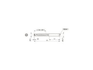 KYOCERA/京セラ ドリル用ホルダ SS16-DRC145M-5