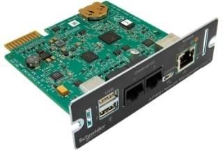 環境モニタリング対応 ネットワークマネージメントカード 3 返品交換不可 温度センサー 超人気 専門店 シュナイダーエレクトリック APC Network Card with Management Environmental Monitoring AP9641J