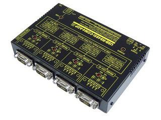 システムサコム工業 USB(COMポート)⇔4ポートRS485変換ユニット USB-RS485i-COM4-ADP