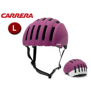 CARRERA/カレラ PRECINCT シティバイクヘルメット 【Lサイズ】 (Matte Fuchsia Ivory)
