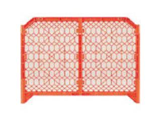 DICプラスチック 【代引不可】ディックSPフェンス 1500×1200 オレンジ DSPF1500O