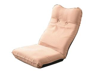 ズレ落ち防止加工折りたたみ座椅子2個組 ベージュ TT-05BE-2