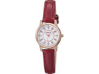 クロトン クロトン ドレスレディス腕時計 レッド  RT-170L-F