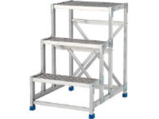 ALINCO/アルインコ 作業台(天板縞板タイプ)3段 CSBC376S