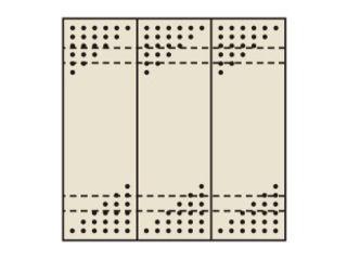 SAKAE/サカエ 【代引不可】パンチングウォールシステム PO-303LN