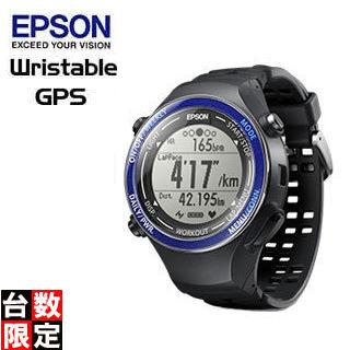 【nightsale】 EPSON/エプソン 【オススメ】SF-850PS Wristable ランニングギア (スポーティングブルー)【GPS・脈拍計測・活動量計搭載】
