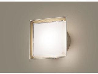 Panasonic/パナソニック LGWC81300LE1 LEDポーチライト プラチナメタリック【電球色】【明るさセンサ付】【壁直付型】