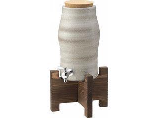 YAMASHO/ヤマ庄陶器 【SHIGARAKI/信楽焼】焼酎サーバー 白モダン/G5‐3305
