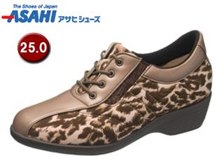ASAHI/アサヒシューズ KS23185-1 快歩主義 L105AC 【25.0cm・3E】 (ブロンズ)