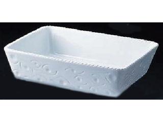 Royale ロイヤル 長角深型グラタン皿 ホワイト/PB520-40-10
