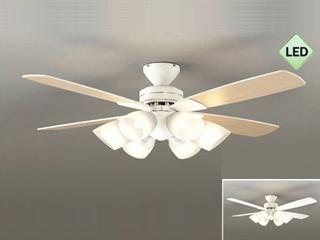 DAIKO/大光電機 【薄型】【軽量】【LED】シーリングファンライト『ホワイト白色』AS-320KJE