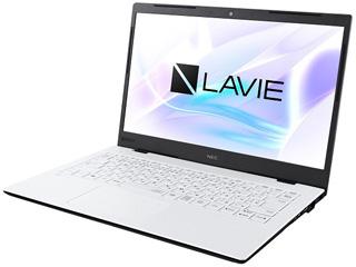 NEC Office付き14型ノートPC LAVIE Smart HM Core i7モデル PC-SN186RADG-D パールホワイト 単品購入のみ可(取引先倉庫からの出荷のため) クレジットカード決済 代金引換決済のみ