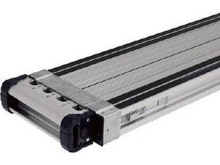 【組立・輸送等の都合で納期に1週間以上かかります】 ALINCO/アルインコ 【代引不可】伸縮式足場板VSSR-H(スベリ止め付き) VSSR210H