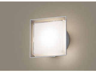Panasonic/パナソニック LGWC81301LE1 LEDポーチライト シルバーメタリック【電球色】【明るさセンサ付】【壁直付型】