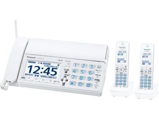 【台数限定!ご購入はお早めに!】 Panasonic/パナソニック 【オススメ】KX-PD625DW(W) デジタルコードレス普通紙ファクス(子機2台付き) ホワイト