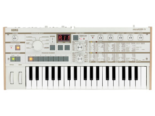 KORG/コルグ MICROKORG S 【2+1スピーカー・システム】【コルグMK-1S】【37鍵盤】