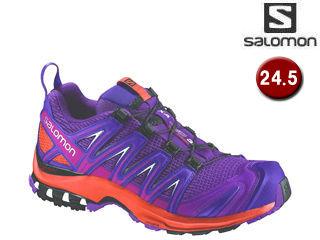 SALOMON/サロモン L39327200 XA PRO 3D W ランニングシューズ ウィメンズ 【24.5】( グレープジュース/フレーム/アサイー)