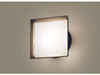 Panasonic/パナソニック LGWC81302LE1 LEDポーチライト オフブラック【電球色】【明るさセンサ付】【壁直付型】