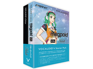 INTERNET/インターネット VOCALOID 4 Starter Pack Megpoid V4 Adult