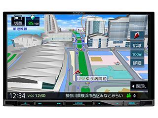 KENWOOD/ケンウッド MDV-S707L Sai-Soku/彩速ナビゲーション 8V型ワイドVGAパネル DVD/USB/SD AVナビゲーション RAV4/ルーミー/タンク/シエンタ/N-BOXなど人気の車種にスッキリ装着。