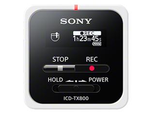 SONY/ソニー ICD-TX800 W(ホワイト) ステレオICレコーダー 16GB