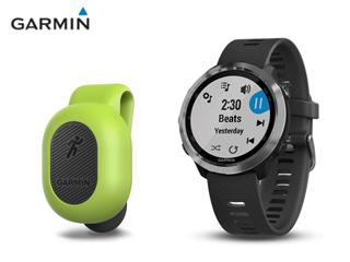 GARMIN/ガーミン ★ForeAthlete 645 Music 音楽再生機能付き GPSランニングウォッチ+ランニングダイナミクスポッド