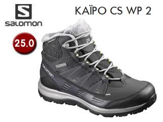 SALOMON/サロモン L39059100 KAINA CS WP 2 ウィンターシューズ ウィメンズ 【25.0】