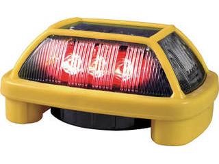 NIKKEI/日惠製作所 ニコハザードFAB VK16H型 LED警告灯 赤 VK16H-004F3R